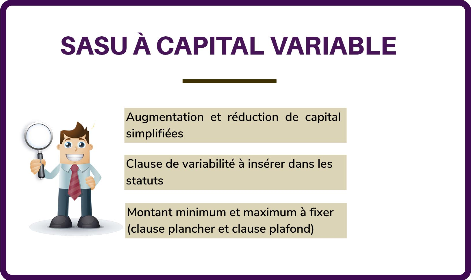 Sasu A Capital Variable Illustration