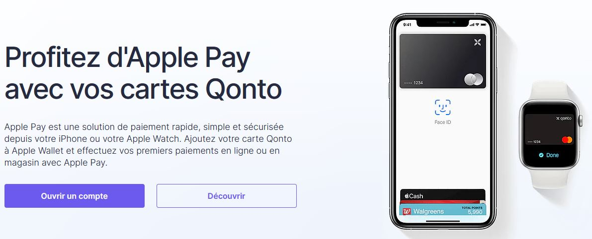 Apple Pay Qonto