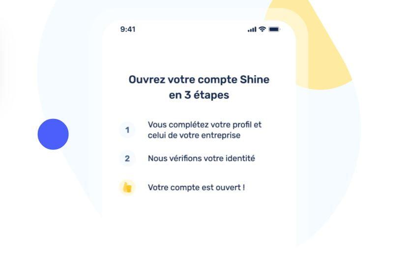Shine Ouverture Compte