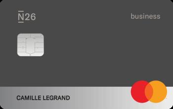 N26 Cards Mastercard Business Raven Fr
