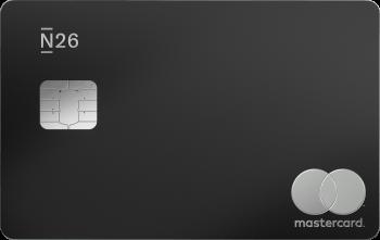 N26 Cards Mastercard Metal Charcoalblack